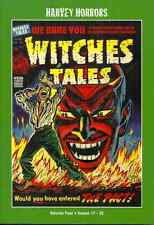 WITCHES TALES VOL #4 - HARVEY HORRORS - PRECODE HORROR COMICS FROM 1953