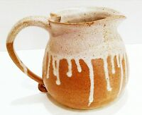Serving Pitcher, Pottery, Country Kitchen, Tableware, Stoneware, Rustic Decor