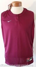 NWT Nike FitDry Womens Racer Back FP Jersey XL Cardinal/White MSRP$38