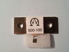500 WATT 100 Ohm 1 GHZ DUMMYLOAD RESISTOR/WIDERSTAND