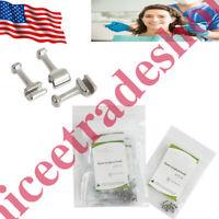 100Pcs Dental Orthodontic Stainless Steel Crimpable Hook for Long Type From US
