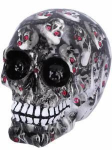 Skull Bloodshot Medium Red Eyed Gothic Figure Ornament 11cm NEMESIS NOW UK