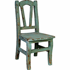 "Youth Kid-Size Wood Chair Blue 12.5""x25.5"" - 30191Blue"