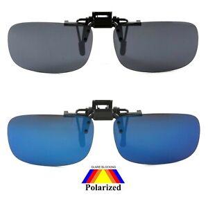 NWT Brighton Polarized Clip On Sunglasses Flip Up