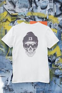 Skull T-Shirt Dad Birthday Funny Print Gift Man Cotton Customised Personalised