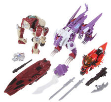 TransFormers BotCon 2014 Knight Apelinq, Flareup Alpha Trizer G1 CHUG The Last