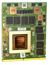 DELL Precision M6800 nvidia Video Quadro K4100M 4GB Type B MXM X8T6N