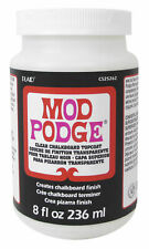 Mod Podge 8 oz Clear Chalkboard Topcoat