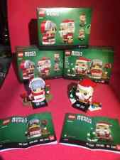 LEGO 40274 Mr. & Mrs. Claus BrickHeadz Christmas Brand New Sealed 341 pcs