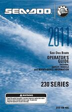 Sea-Doo Owners Manual Book 2011 230 CHALLENGER