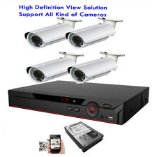 4Ch 6Mp All-in-1 Cameras Dvr 1080P 4-in-1 Ahd 2.6Mp 42Ir Tvi Security System b9m