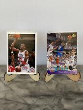 1991-92 & 1992-93 Upper Deck Michael Jordan All Star Weekend Card Lot of 2