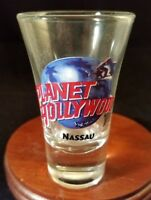 Collectible Barware Shooter Shot Glass Planet Hollywood Nassau