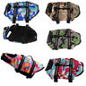 Pet Dog Life Jacket Preserver Puppy Swimming Surf Safety Vest Saver XS - XXL