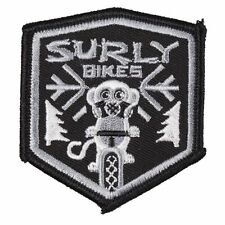 """Surly """"Snow Monkey"""" Sew-on Embroidered Bicycle Patch"""