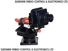 RC Plastic PT Kit Pan Tilt Camera Platform Anti-Vibration Mount FPV Planes UK