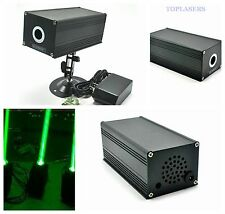 12V Fat Beam 532nm 100mW Green Laser Module for Room Escape Long-Time Working