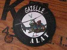 SNAKE PATCH PVC - GAZELLE - ALAT FRANCE pilote hélicoptère RHC aviation Armée