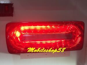 LED CRYSTAL REAR TAIL LAMP ASSY For '86-'15 Mercedes Benz W463 G Class(RED)