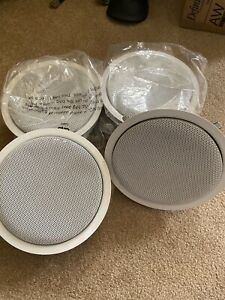 IMAGE ACOUSTICS SCB-600 Ceiling Speakers Lot Of 4 Excellent Condition