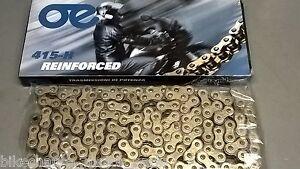 catena passo 415 128 maglie 50cc strada cross enduro pit - bike