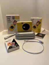 Canon IVY CLIQ Instant Camera Printer Bumblebee Yellow