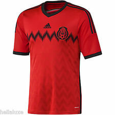 nwt-Adidas MEXICO FMF Football Soccer Shirt Brazil 2014 WORLD CUP Jersey~Mens M