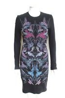 McQ Alexander McQueen Hummingbird-print stretch-jersey mini dress M