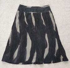 Nylon Knee-Length Hand-wash Only Skirts for Women