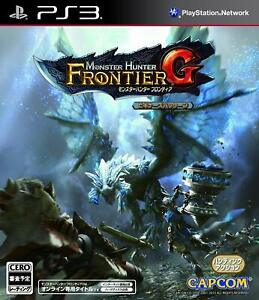 Monster Hunter Frontier G Beginners Package Software PS3 Capcom