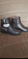 brown River Island boot size 3/36
