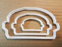 Burger Fast Food Takeaway Shape Cookie Cutter Dough Biscuit Pastry Fondant Sharp