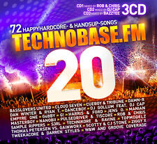 CD TechnoBase.FM Vol.20 von Various Artists 3CDs