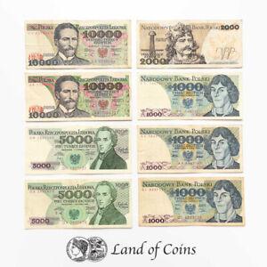 POLAND: Set of 15 Polish Zloty Banknotes.
