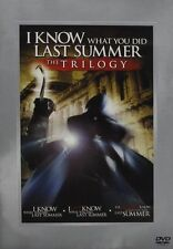 I Know What You Did Last Summer 1 2 3 Still Always DVD Set Trilogy Horror Film R