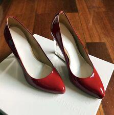 Original Maison Martin Margiela h&m h m Zapatos señora red rojo talla 37 us6 New