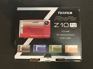 Finepix Z10FD 7.2MP Digital Camera