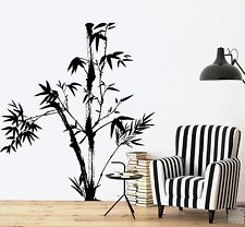 Wall Decal Tree Bamboo Bedroom Floral Vinyl Sticker (z3638)