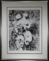 Vicente Gandia Etching w/ Aquatint Signed Numbered Picasso Dali Chagall Tamayo