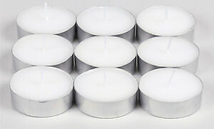 Large Tea Lights - Tealights - Large T Lights - All Quantities - Small Candles
