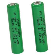 HQRP 2 baterias para Panasonic HHR4DPA, HHR-55AAABU, HHR55AAABU, N4DHYYY00004