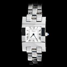 Chopard 18K WG Ladies Classique Special H Bracelet Watch. Silver Dial