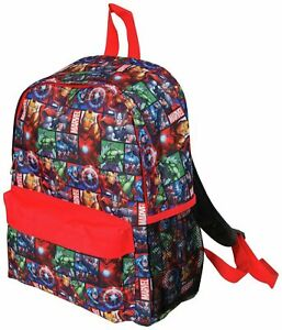 Marvel ® Avengers Official Backpack, Children Boys Girls Adults Comics