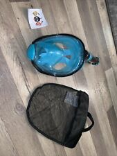 Wave Full Face Snorkel Mask Only Used Once. Size S/M
