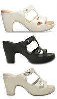 CROCS CYPRUS V HELL W scarpe sandali donna infradito ciabatte mare zoccoli tacco