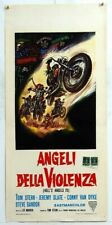 HELL'S ANGELS '69 italy poster locandina HARLEY DAVIDSON BIKERS MOTO EASY RIDER