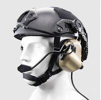 OPSMEN Tactical Earmor M32H MOD3 Helmet Mount Communication Headset - TAN -