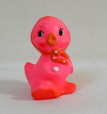 Pouet jouet couineur cane rose