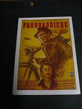 The Bicycle Thief, film card [Vittorio de Sica film]