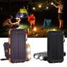 300000mAh Waterproof Dual USB Portable Solar Battery Charger Solar Power Bank TR